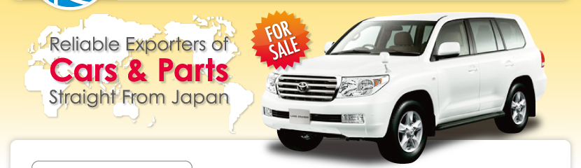 Reliable Exporters of Cars & Parts Straight From Japan